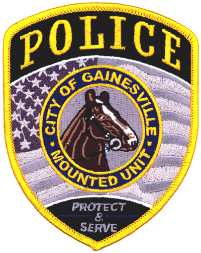 The GPD Badge for the now disbanded Mounted Patrol